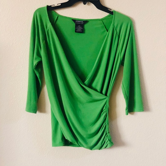 George Tops - George Green Blouse